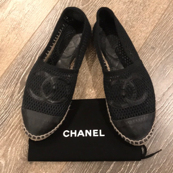 CHANEL Shoes | Chanel Mesh Espadrille